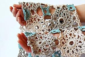 My first crochet shawl