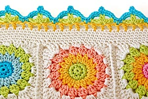 Crochet border chart