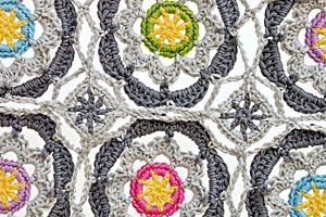 Crochet mosaic