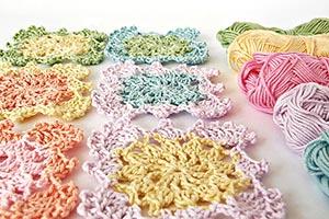 Beautiful beyond the square crochet motifs