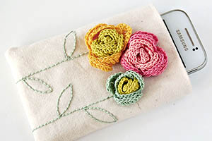 DIY: Phone Pouch Free Tutorial