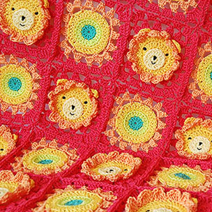 Little Lion Baby Blanket