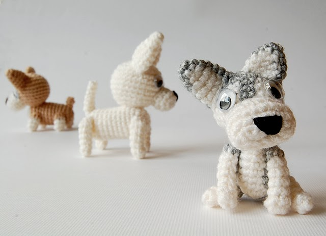 Amigurumi dogs pattern