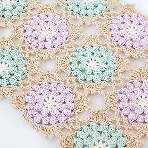Autumn glory crochet scarf