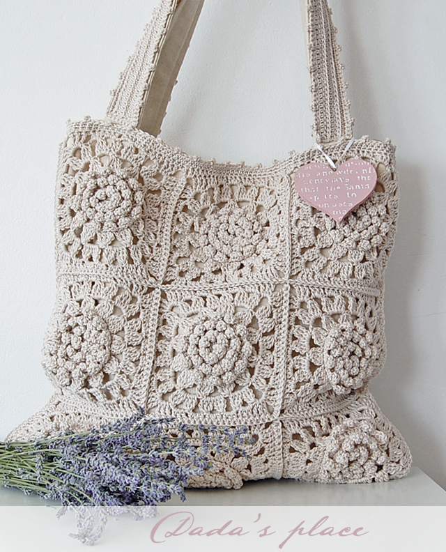 Victorian Flower Tote Bag
