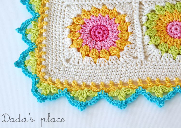 Beautiful crochet border free pattern