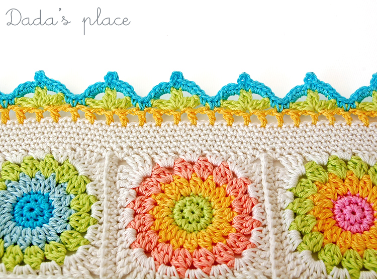Beautiful crochet edge free pattern