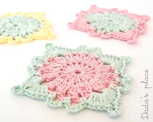 Beautiful crochet motif