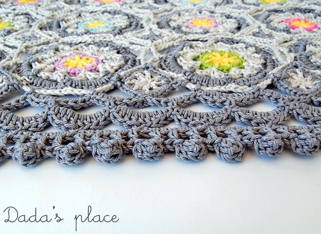 Beautiful crochet poncho