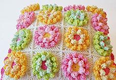 Blooming Garden Pillow