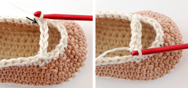 Crochet baby booties free photo tutorial