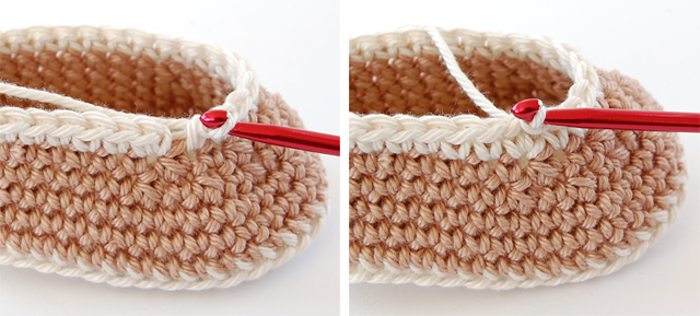 Crochet baby booties free tutorial