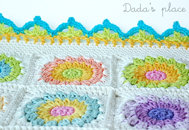 Crochet border free pattern