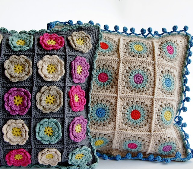 Crochet pillows free crochet patterns