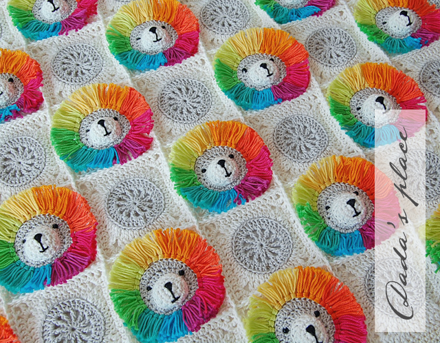 Cute animal crochet baby blanket pattern and step by step tutorial