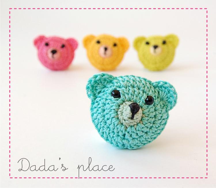 Cute crochet teddy bears