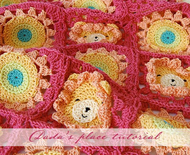 Cutest crochet baby blanket pattern