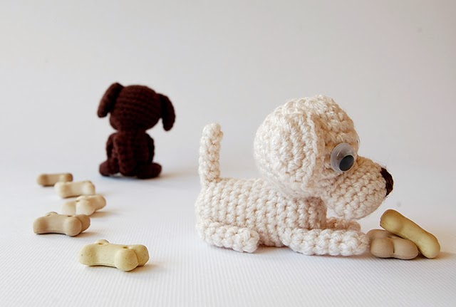 Cutest ever amigurumi dosg