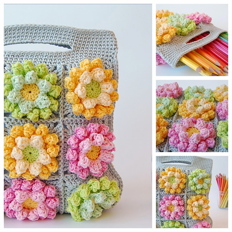 Dadas place crochet bag