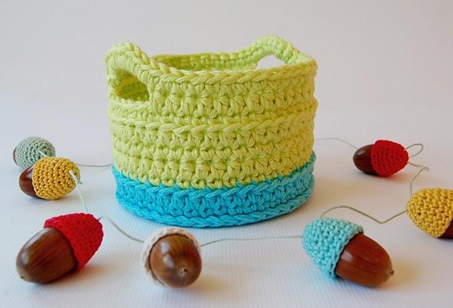 Dadas place crochet basket