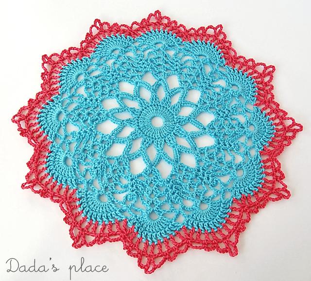 Dadas place doily free pattern