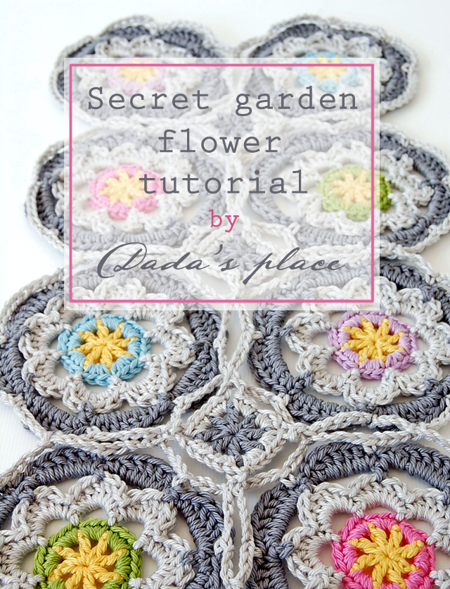 Dadas place secret garden shawl free pattern