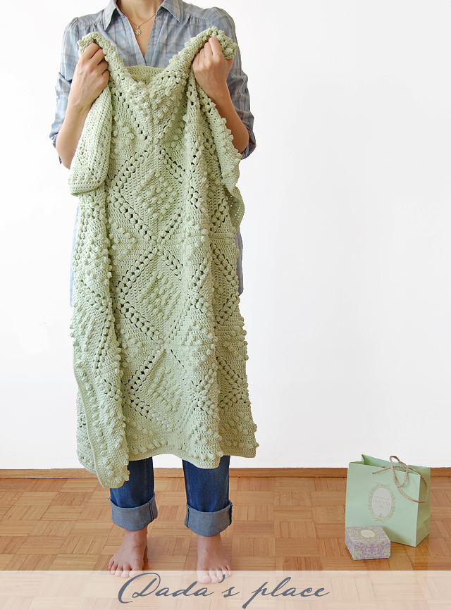 Dada's place vintage blanket free pattern
