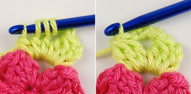Easy free crochet step by step tutorial for beginners