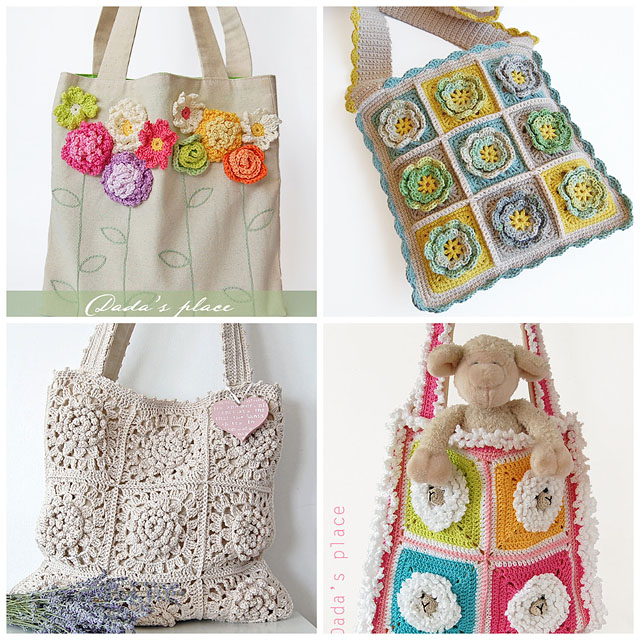Crochet Backpack Bag : Crochet bags