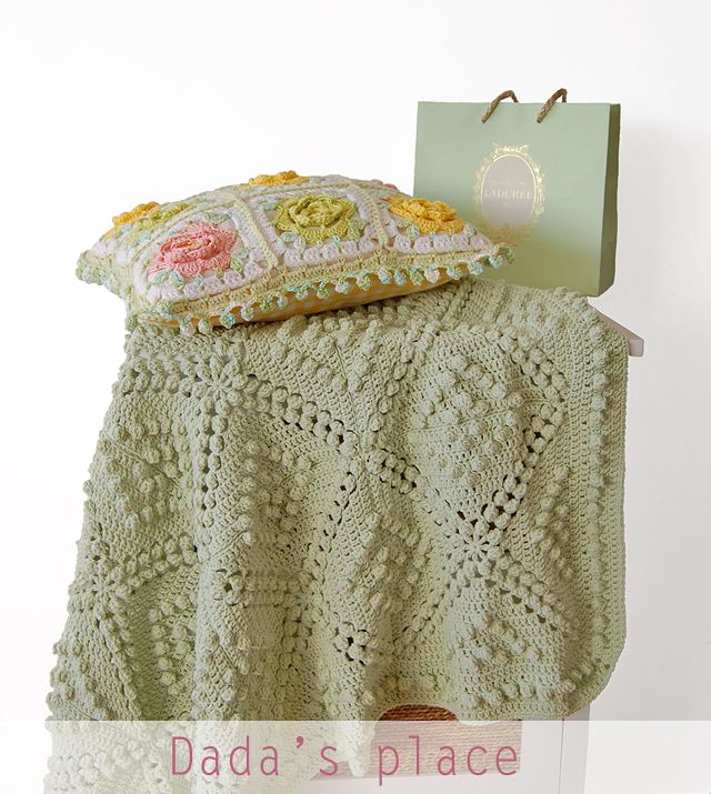 Free crochet pattern Vintage style vintage blanket