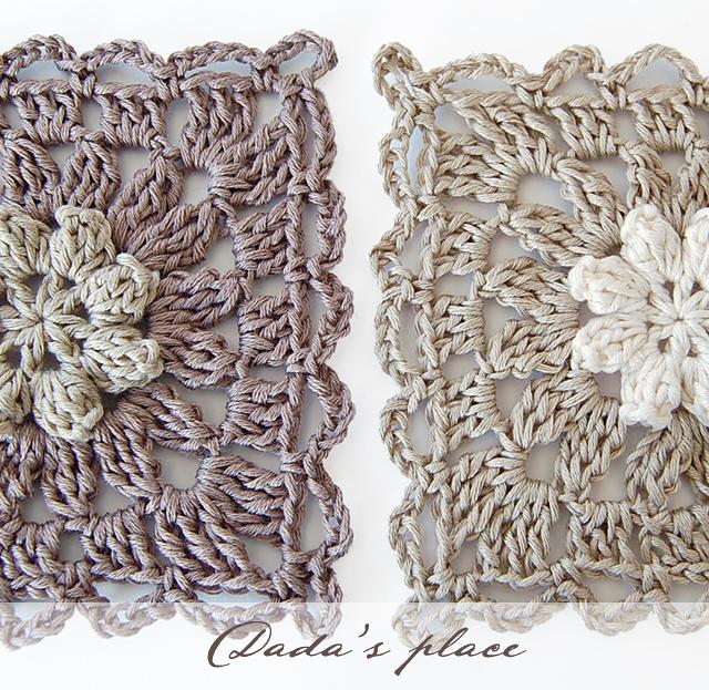 New primavera granny square free pattern