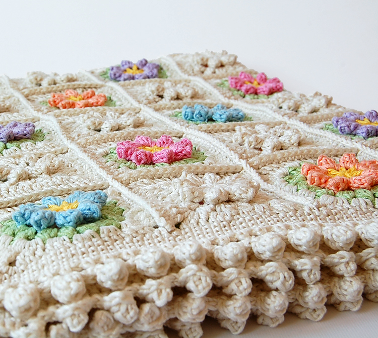 Granny square free pattern and step by step tutorial