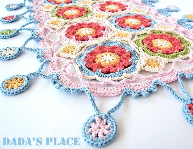 Gypsy queen crochet scarf stylecraft yarn