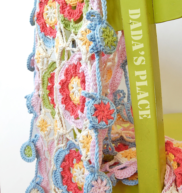 Gypsy queen crochet scarf