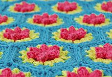 Flowery Hexagon
