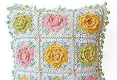 Japanese Flower Pillow