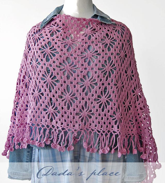 Japanese lacy shawl