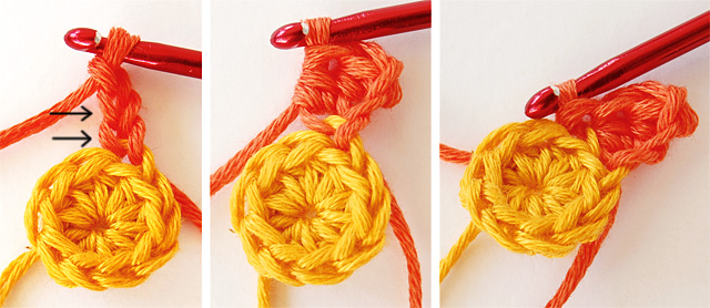 Little crochet flower free photo tutorial