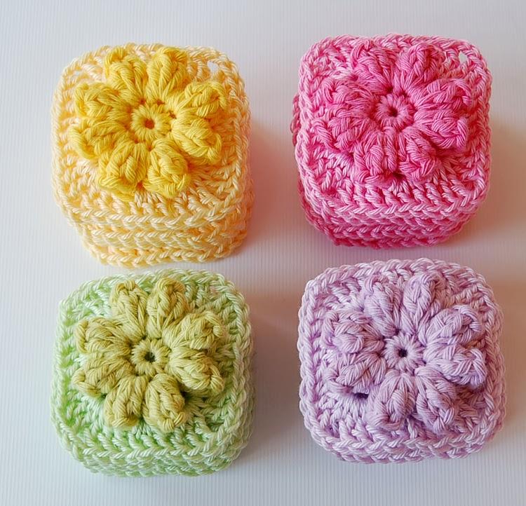 Little granny squares