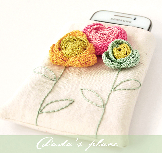 Phone pouch free tutorial