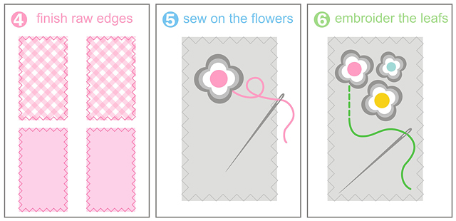 Phone pouch step by step free tutorial