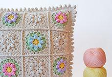 Primavera Flowers Pillow