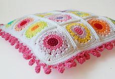 Rosie Posie Pillow