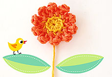 Simple Crochet Flower