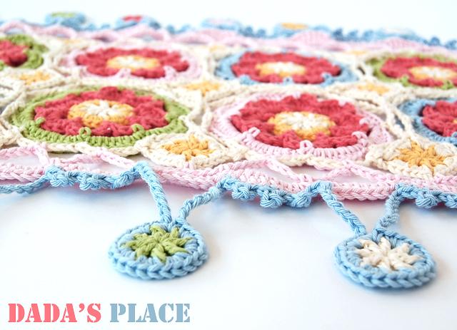 Stylecraft yarn crochet scarf