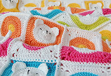 Teddy Bear Baby Blanket