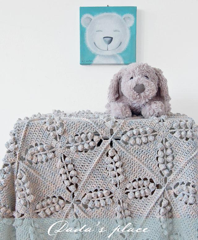 Vintage crochet blanket pattern