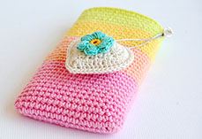 Rainbow Phone Pouch