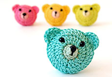 Crochet little bears