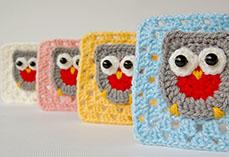 Little Owl Granny Square